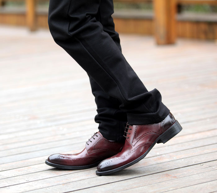 Free-shipping-2013-Premium-Genuine-Leather-Oxford-font-b-Shoes-b-font-Lace-Up-Brown-font