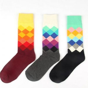 happy-socks-men-women-colorful-gradual-change-diamond-socks-cotton-unisex-fashion-knee-high-socks